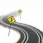 A race track of what to do at the end of a car lease